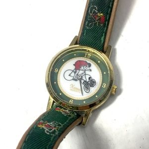 Vintage Xanadu Bicycle Watch Small Wristband Bike